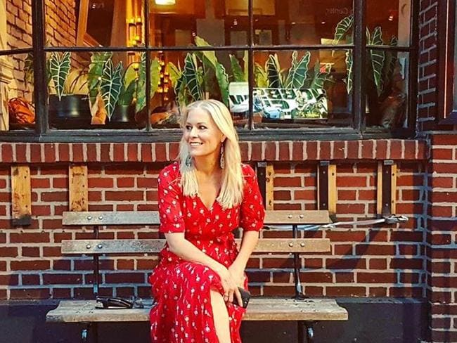 Just a girl, sitting in front of a New York tacqueria wondering what happened to Candace? Picture: Supplied