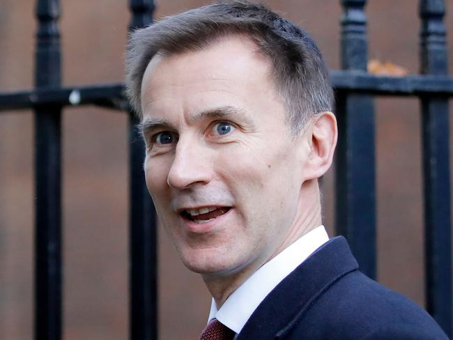 Britain's Foreign Secretary Jeremy Hunt has slammed the decision. Picture: AFP