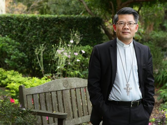"""The Bishop of Parramatta Vincent Van Long Nguyen said that LGBTI people had """"often not been treated with respect"""" and asked the church to """"respect their dignity"""". Picture: Supplied"""