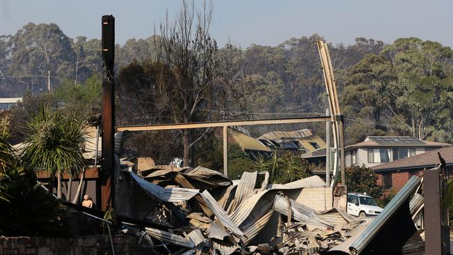 Mr Di Natale's comments come as Tathra residents are devastated by recent fires.