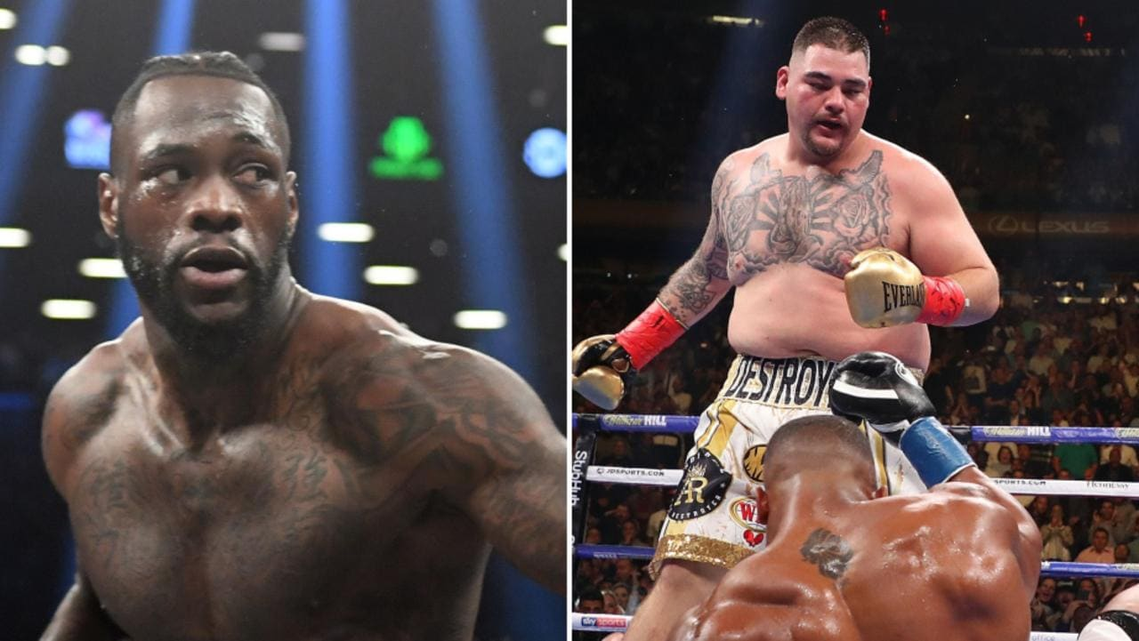 The heavyweight division is about to explode.