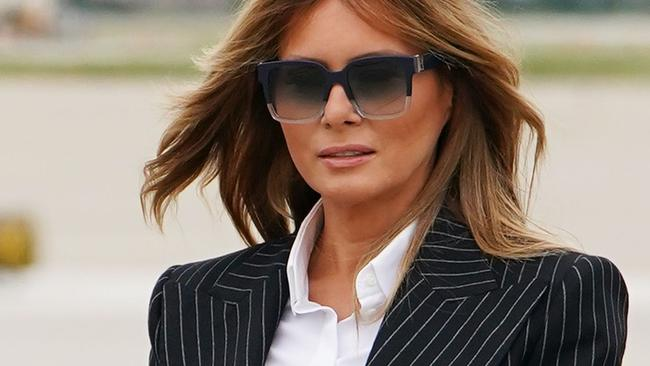 Virus symptom forces Melania to cancel campaign appearance