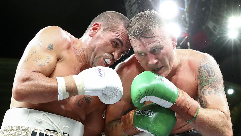 81dbebc296d Danny Green beat Anthony Mundine in more than slightly controversial  circumstances.
