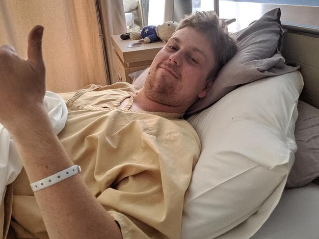 Ryan was bed ridden for weeks, and has a medical bill well over $10k.