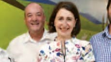 Gladys gave $40k to lover's electorate