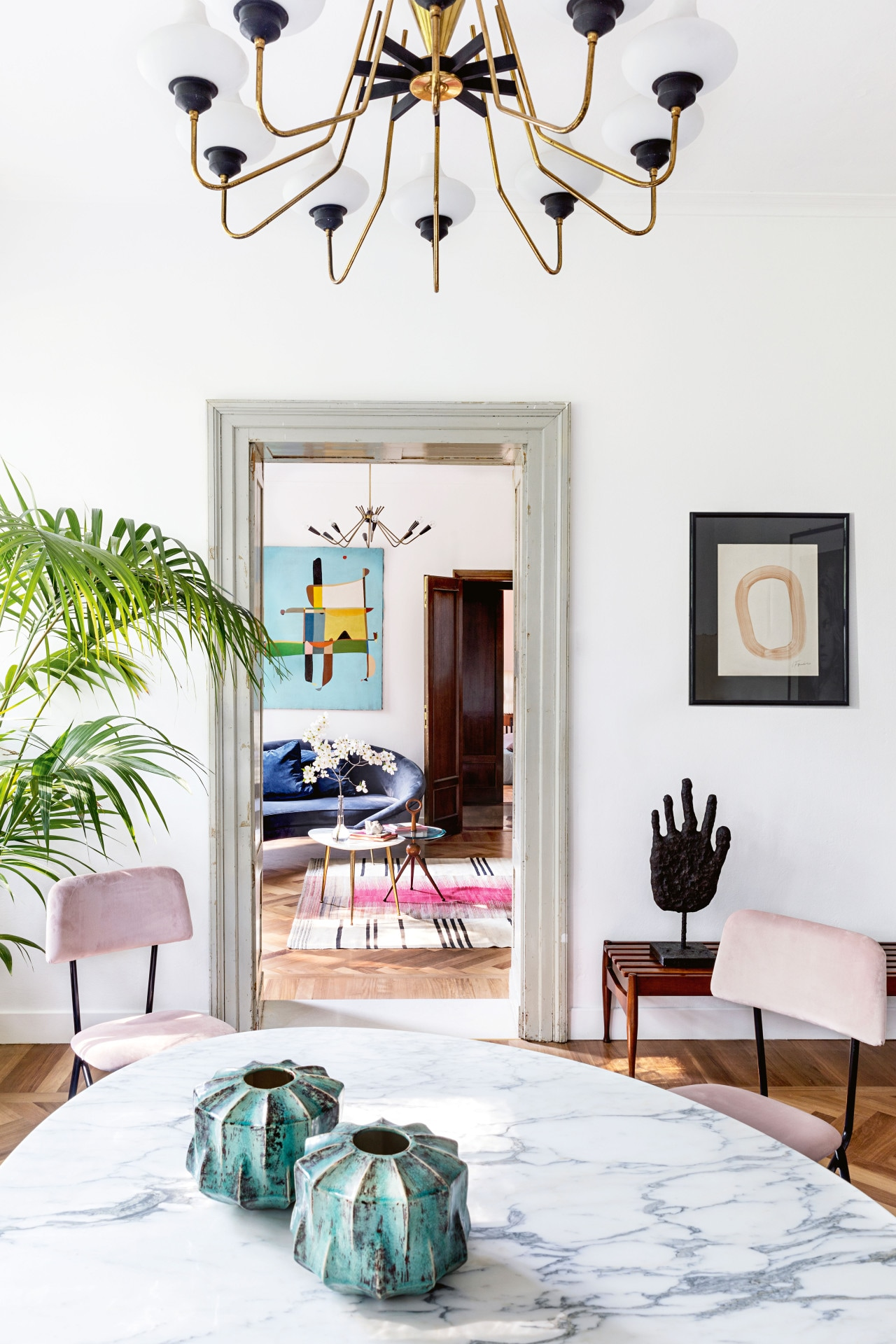 House tour: an Italian shoe factory turned into a home and studio