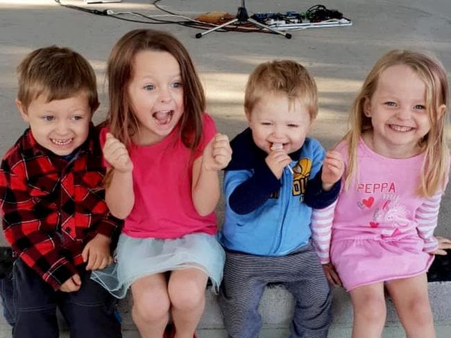 Ms McLeod's four children all died after the high speed crash.