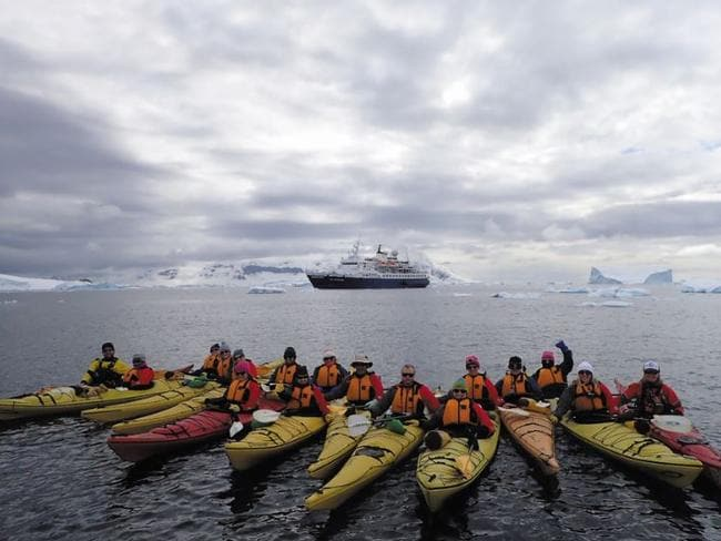 There has been a big increase in bookings to Antarctica. Picture: Intrepid Travel