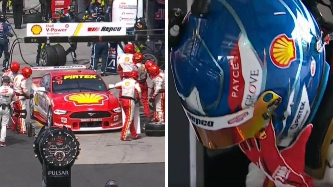 The early pit stop that changed everything for Scott McLaughlin at Bathurst.