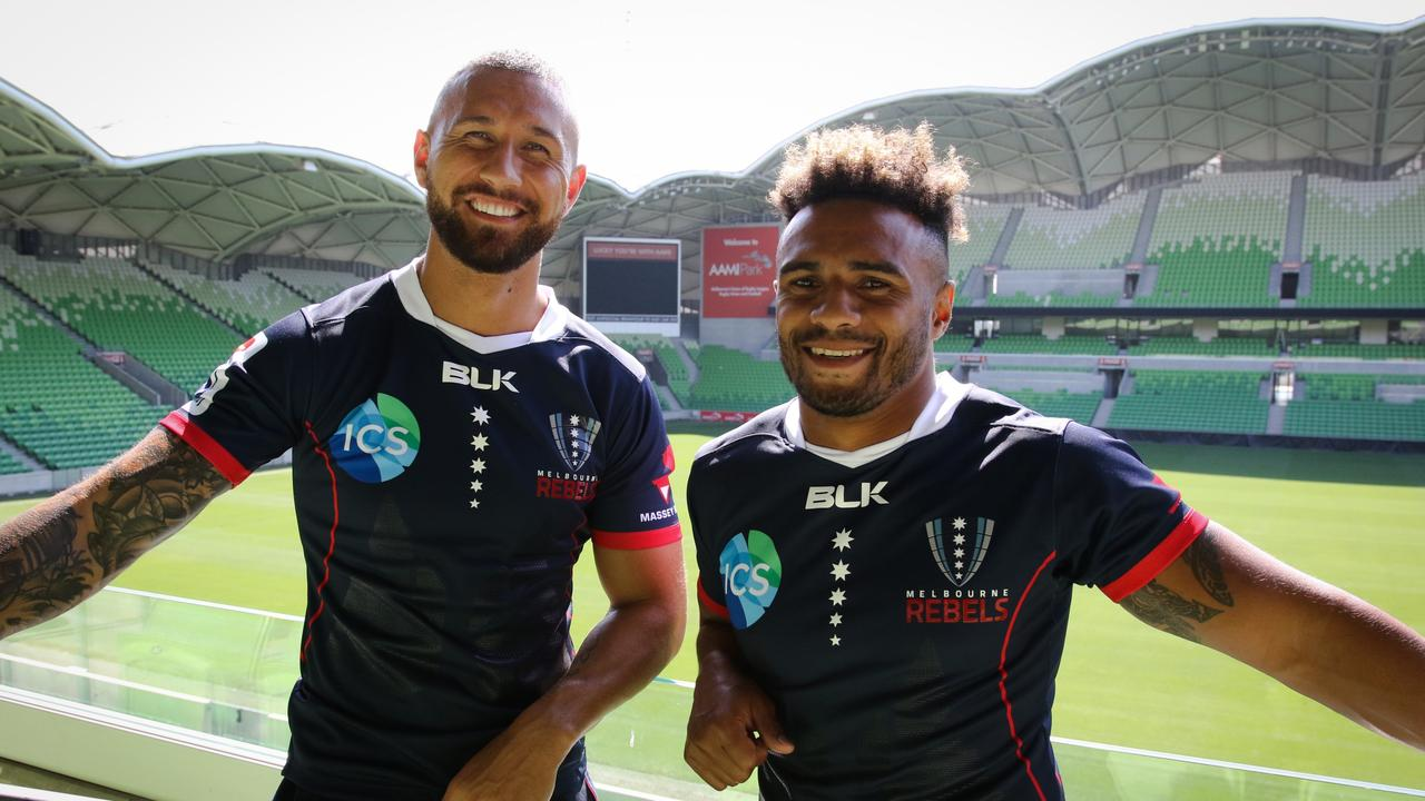 Quade Cooper and Will Genia will take on the Reds together for the first time.