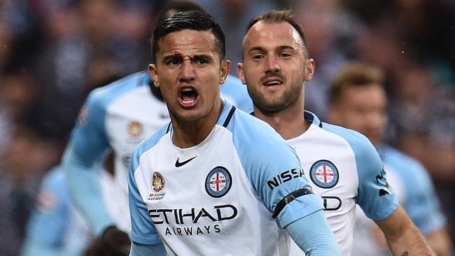 Melbourne City is already flexing its financial muscle. (AAP Image/Julian Smith)