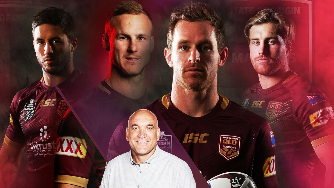 Gorden Tallis has thrown up a bolter for the Maroons centres if Daly Cherry-Evans is ruled out.