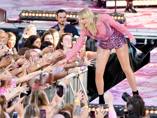 Taylor Swift performed on Good Morning America in New York this week. Picture: Getty Images