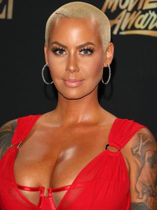 Amber Rose posted a heartfelt message to Khloe. Picture: AFP