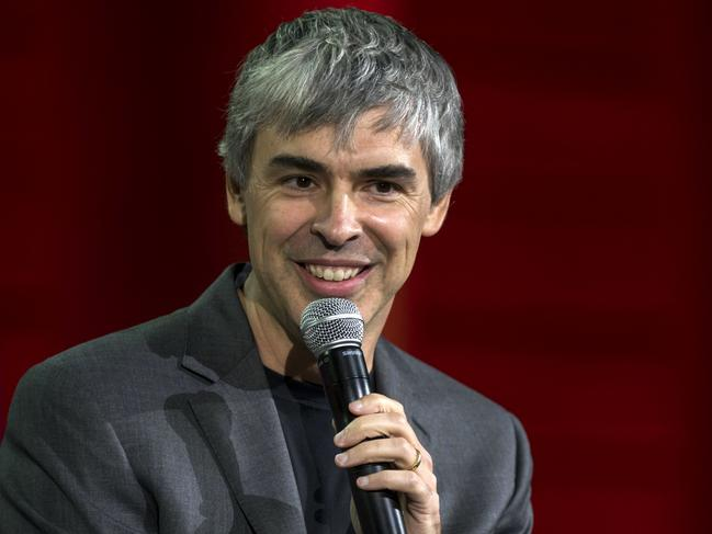 Larry Page, co-founder of Google Inc. will fork out $29 million to host Google Camp along with Sergey Brin. Picture: Bloomberg