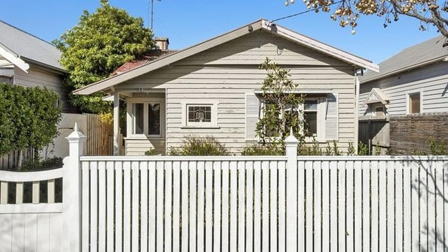 This two-bedroom house at 78 Foster St, South Geelong recently sold for $600,000.