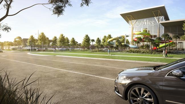 Fun and games await residents and their guests at Club Jubilee One. Image: artist's impression