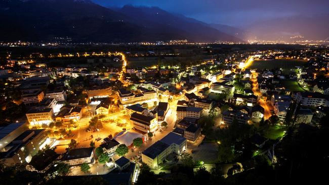 The country's capital city of Vaduz is one of the smallest in the world.