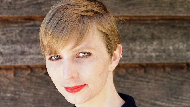 Chelsea Manning had her sentence commuted but is apparently still in prison. AFP PHOTO / COURTESY OF CHELSEA MANNING