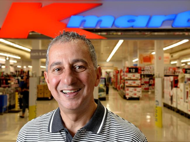 Guy Russo turned Kmart around; now the pressure is on at Target. Picture: Steve Tanner