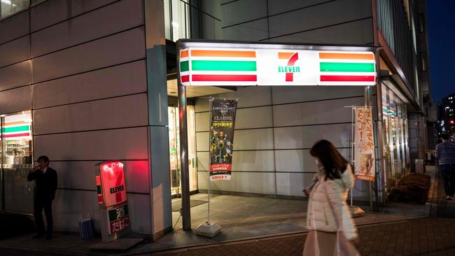 Japan's network of convenience stores will stop selling pornographic magazines before waves of tourists visit the nation. Picture: Behrouz Mehri/AFP