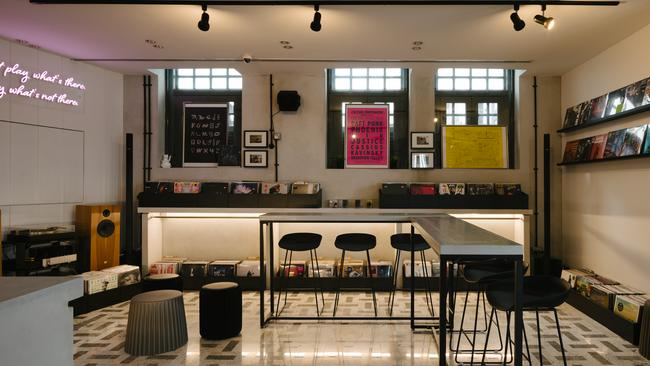 A bar in a record store — how did no one think of this sooner?