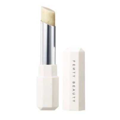 It sounds gross, but the Fenty Pro Kiss'r Lip-loving Scrubstick makes removing icky dead skin easy. Picture: Sephora