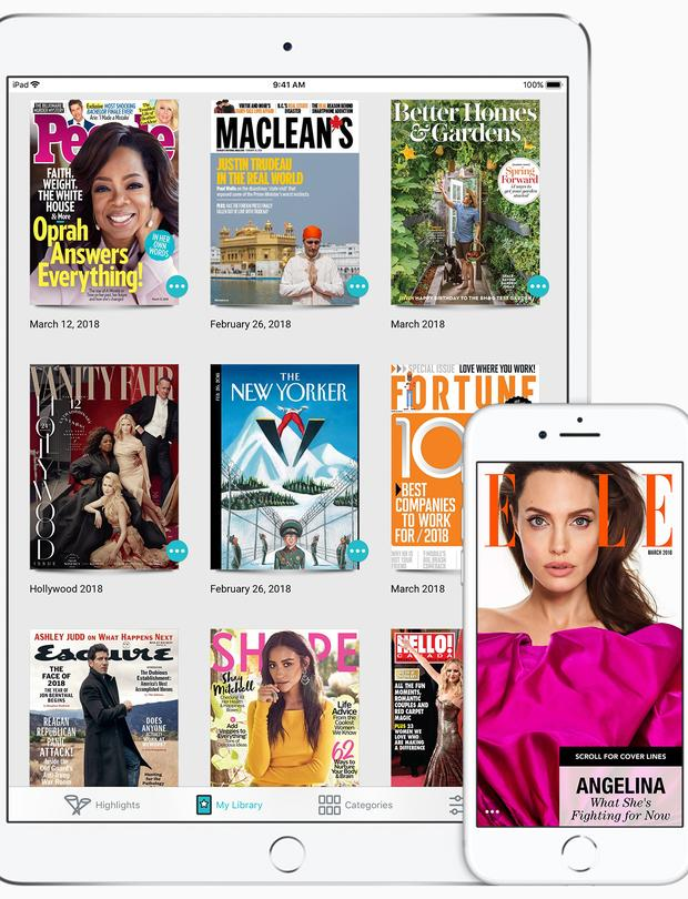 A year ago, Apple announced it signed an agreement to acquire Texture, the digital magazine subscription service by Next Issue Media LLC, that gives users unlimited access to select titles for a monthly subscription fee.