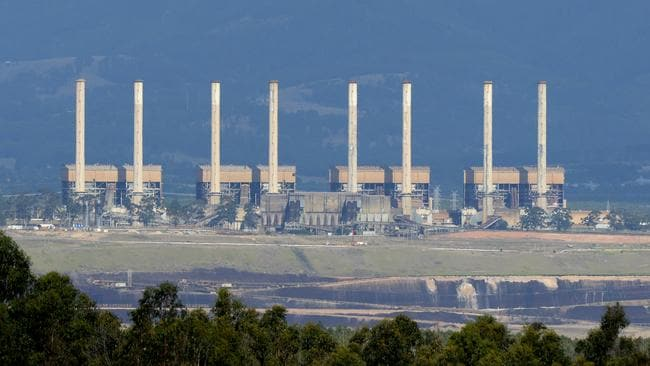 The now-closed Hazelwood coal-fired power station. Picture: Mal Fairclough/AAP