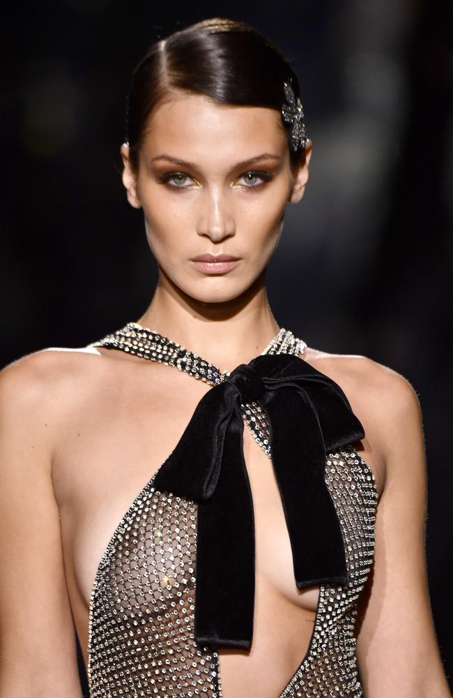 Take a bow, Bella Hadid. Picture: Getty Images