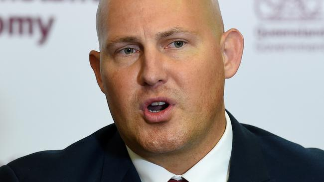 Queensland Treasurer Curtis Pitt has been accused of backflipping on a promise. Picture: Dan Peled/AAP