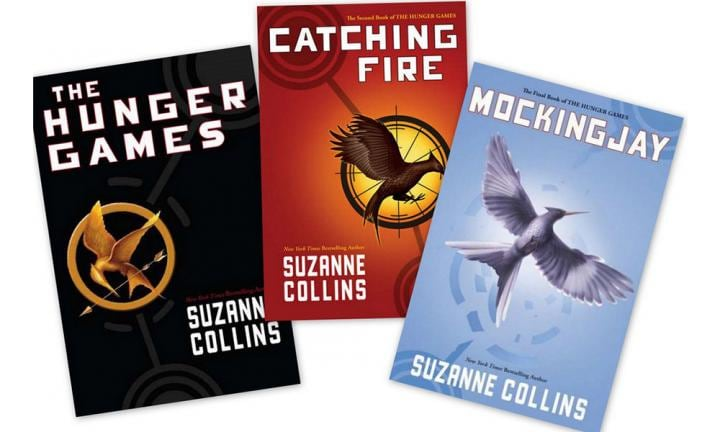 10. THE HUNGER GAMES  <p>With The Hunger Games movies becoming a hit at the box office, it's no surprise the books are also some of our children's favourites. Adventure, bravery, and inspiring characters - this book has it all!</p>