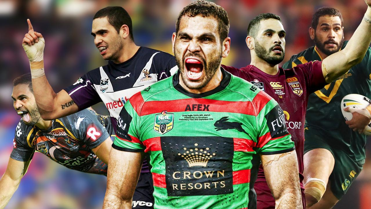 Greg Inglis has produced an incredible 14-year rugby league career.