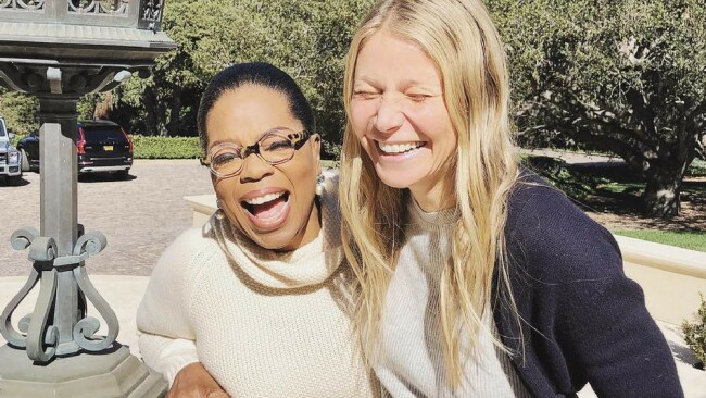 Gwyneth shared this snap with Oprah to announce the interview. Photo: Instagram.com/gwynethpaltrow