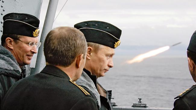 Russian President Vladimir Putin is a huge concern in the eyes of the US defence force.