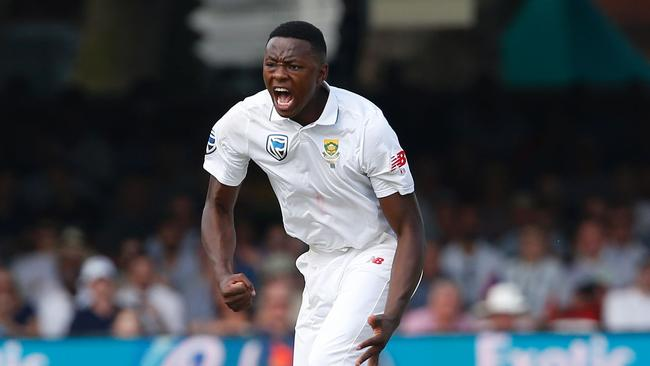 South Africa's Kagiso Rabada missed a Test last year after telling Ben Stokes to f*** off.