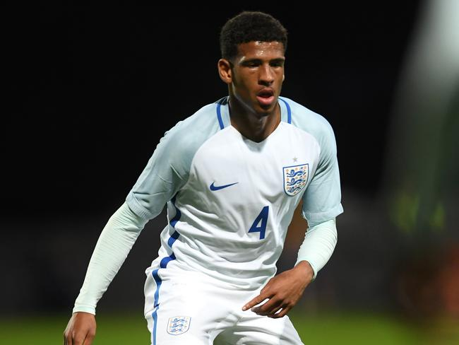 Marcus McGuane of England. (Photo by Laurence Griffiths/Getty Images)