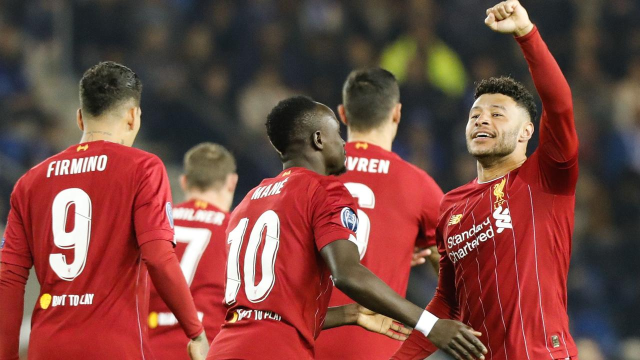Champions League Liverpool Vs Genk Scores Results Table
