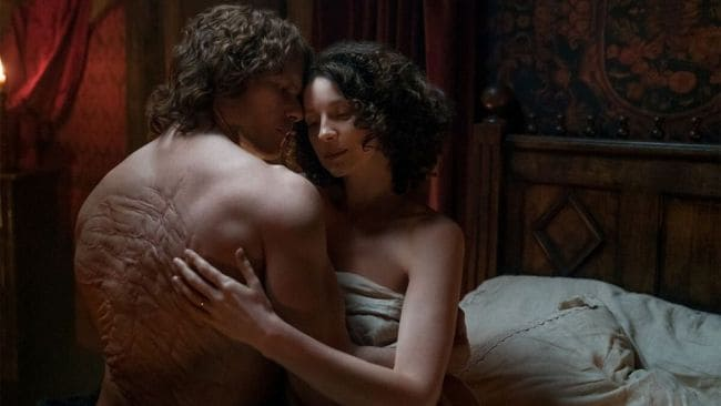 Jamie's sexual assault is a major turning point. Image: Outlander