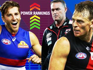 AFL Power Rankings: Alan Richardson, Marcus Bontempelli and Brendon Goddard.