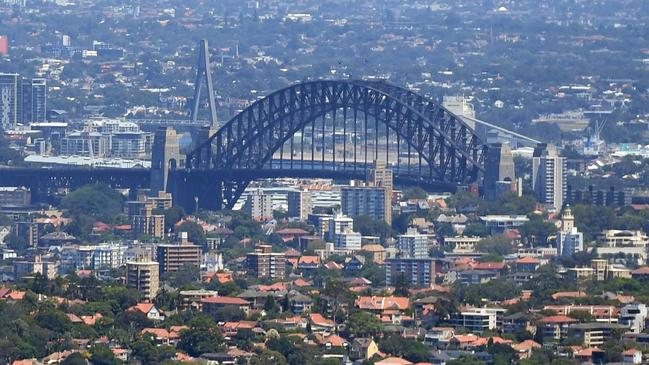 Sydney home prices have fallen nearly 14 per cent since peaking in July 2017. Picture: Sam Mooy