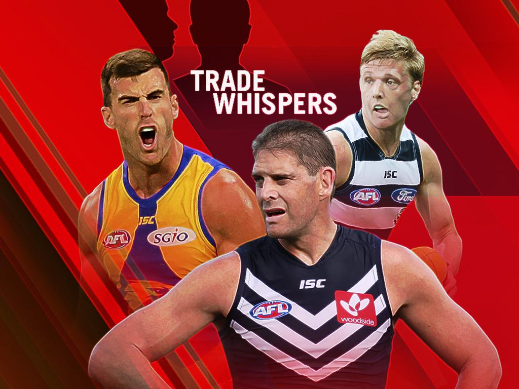 AFL trade whispers: Scott Lycett, Aaron Sandilands and George Horlin-Smith.