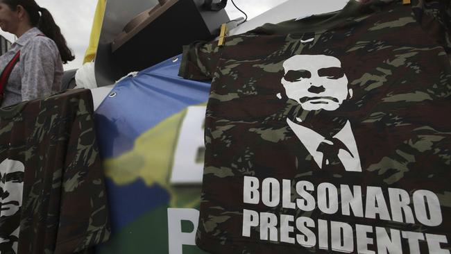 Before the run-off election in Brazil on 28 October, Bolsonaro has a clear advantage over left-wing Workers' Party presidential candidate Fernando Haddad. Picture: /Eraldo Peres / AP Photo.