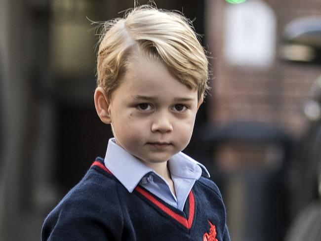 Prince George has called himself Archie. Picture: AFP