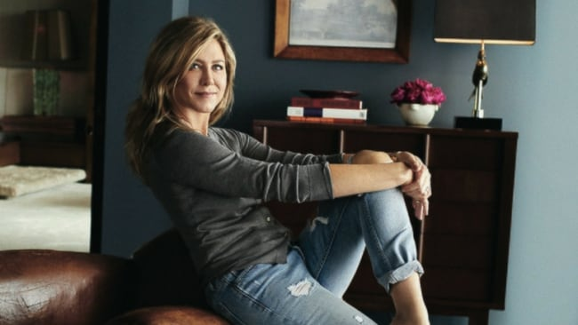 Jennifer Aniston said she's bemused by the intense interest in her personal life. Photo: Architectural Digest/Alexi Lubomirski