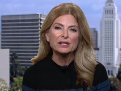 Lawyer Lisa Bloom. Picture: BBC Newsnight