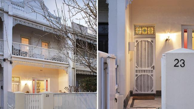 23 Ramsden St, Clifton Hill, sold for $1.705 million.