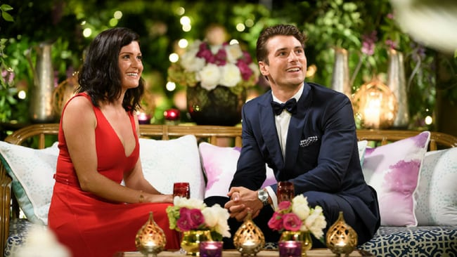 Of course, I'm totally fine with you talking to her! *sobs quietly behind the couch* Photo: The Bachelor