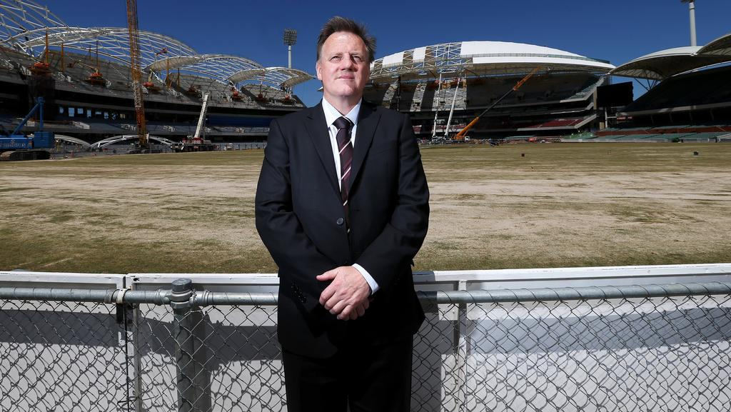 Port adelaide ceo keith thomas says the power followed hawthorns port adelaides keith thomas in front of adelaide oval during its redevelopment stage photo malvernweather Image collections