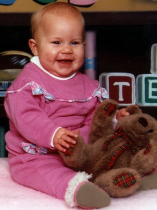 Sarah Folbigg died at age 10 months on August 30, 1993. Picture: News Corp Australia.